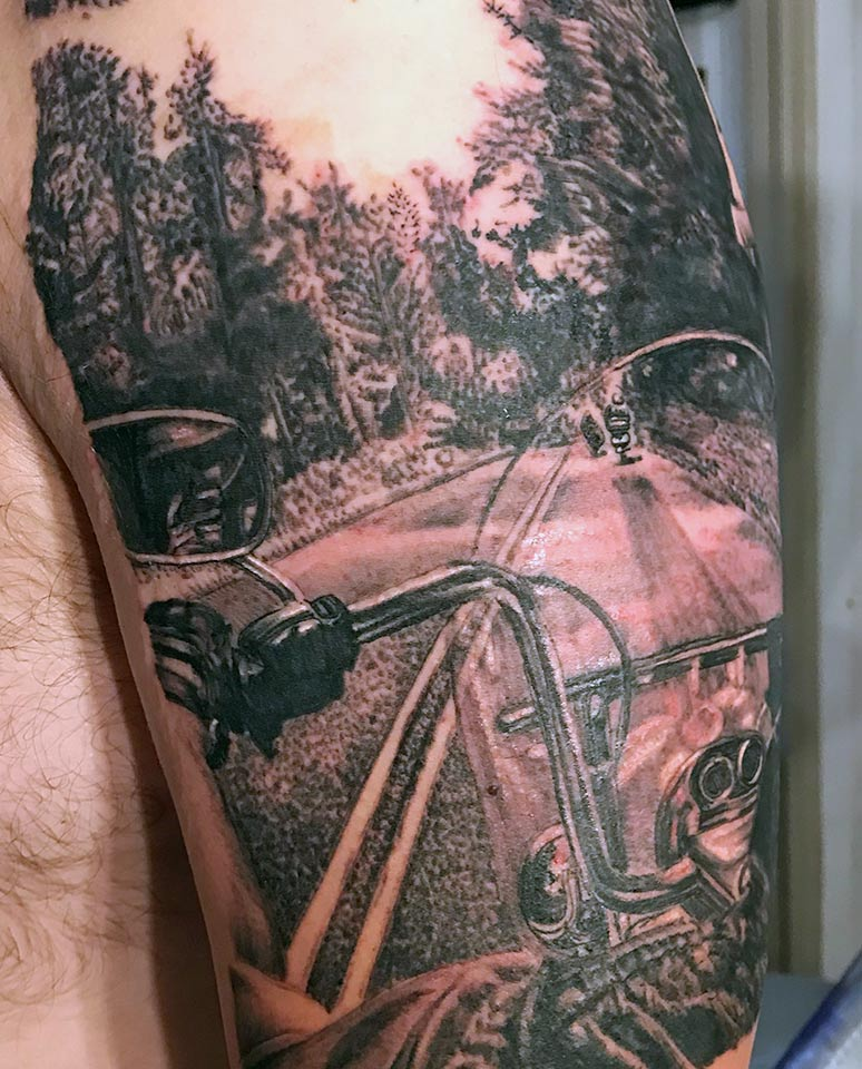 Let's Ride Tattoo 1