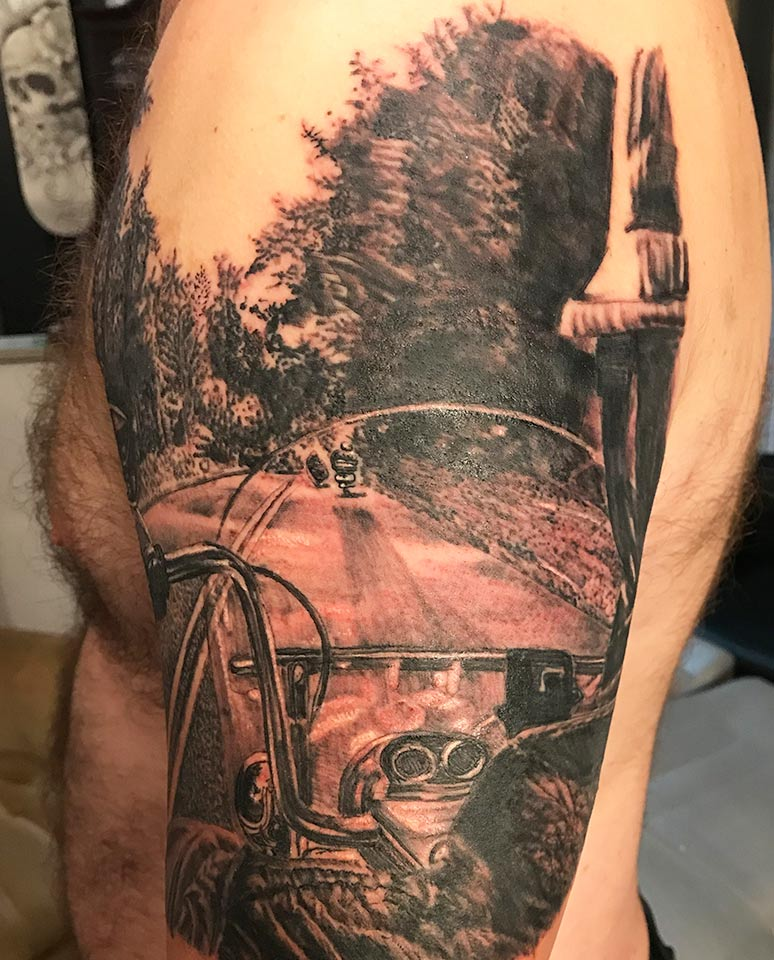 Let's Ride Tattoo 2